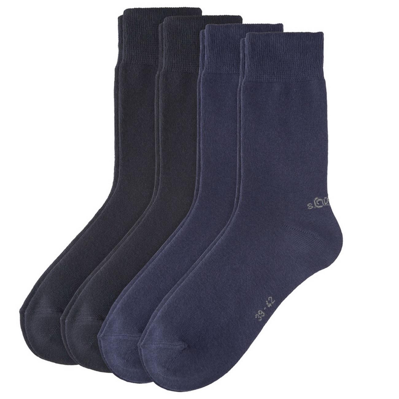 S.Oliver Classic Socken Unisex Business Strümpfe 39-42 43-46 47-49 Herren Damen
