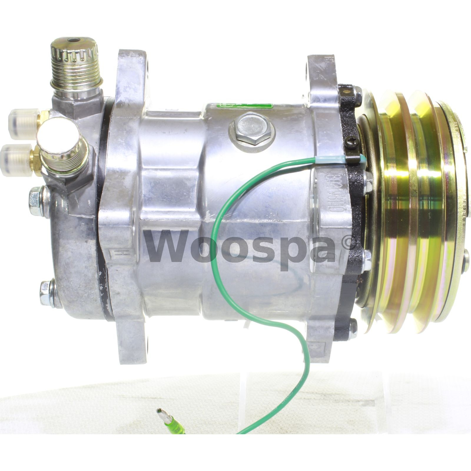 Klimakompressor 24V Universal Sd508 Isuzu Faun Frutiger Furukawa Vertical Clare