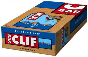 CLIF BAR® Energieriegel Chocolate Chip, 12er Box – Bild 2
