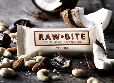 RAW BITE, BIO DK - Coconut Riegel, 12er Display Box – Bild 2