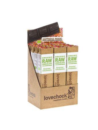 lovechock bio - Ananas / Inka, 12er Display