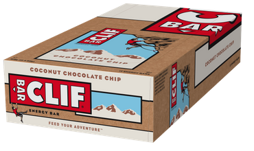 CLIF BAR® Energieriegel Coconut Chocolate Chip, 12er Box – Bild 2