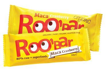 ROOBAR Maca & Cranberries 20 x 30g, Bio
