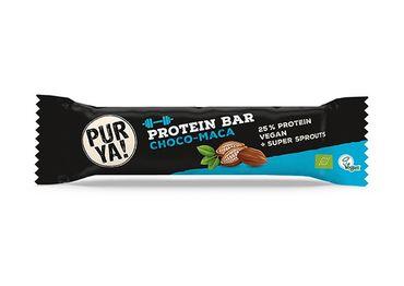 PURYA! Bio Protein Bar Choco-Maca  24 x 40g – Bild 1