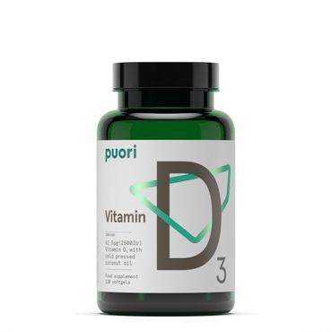 PUORI D3 - Vitamin D3 Kapseln