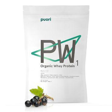 PUORI PW1 - Pure Whey Blackcurrant, bio