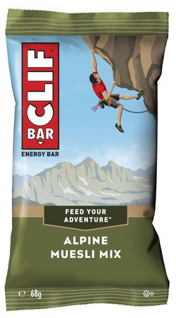 CLIF BAR® Energieriegel Alpine Muesli Mix, 12er Box