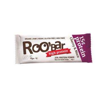 ROOBAR Protein Cherry Maca 10 x 60g, Bio