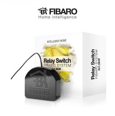Fibaro Relais Unterputzeinsatz 2 Schalter a 1.5kW - Z-Wave – Bild 1