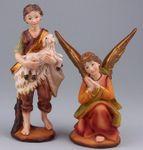 Krippenfiguren Set aus Polyresin. 11 Tlg . 11 cm. Für Weihnchtskrippe. W703 Bild 4