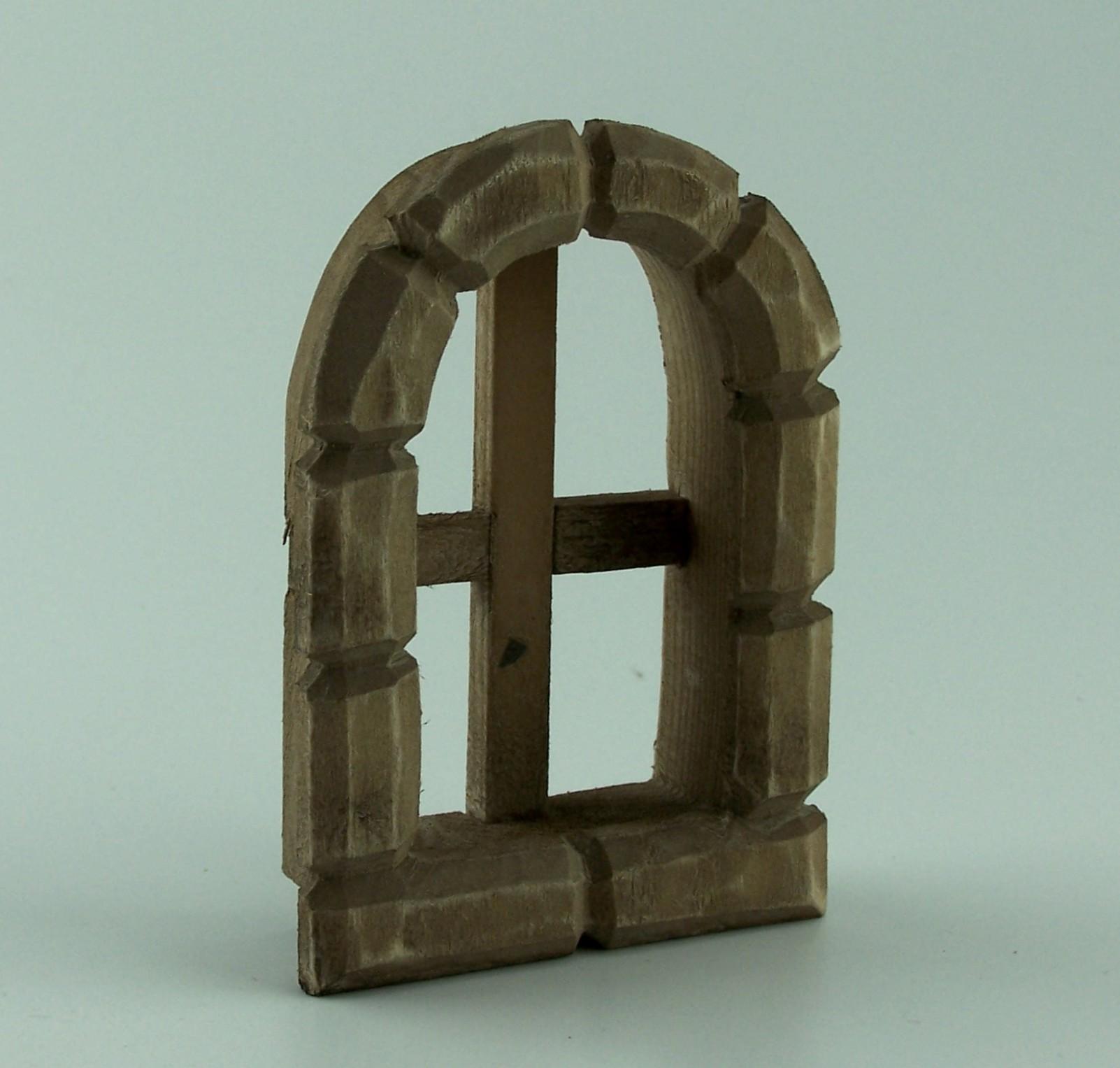 fenster mit geschnitzte zargen zargen aus lindenholz 9x6 5 cm braun gebeizt. Black Bedroom Furniture Sets. Home Design Ideas