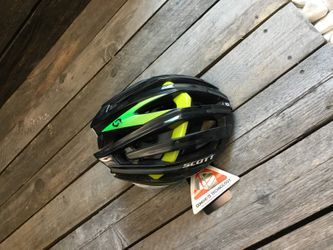 SCOTT VANISH EVO HELM 2014 BLACK/GREEN S – Bild 2