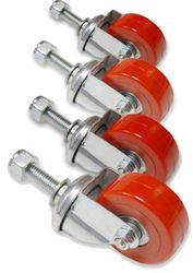 SCICON Wheels + Screws for AeroComfort - Red