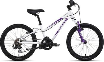 SPECIALIZED HOTROCK 20 6 SPD GIRL INT WHT/PUR