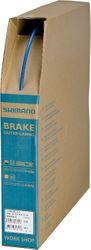SHIMANO Bremszugaußenhülle SLR, SLR, 40 Meter (Rolle), Blau