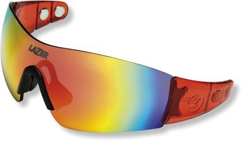 LAZER BRILLE M1-S CRYSTAL RED .