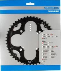 SHIMANO Kettenblätter ACERA FC-M361, 48 Zähne für KSR, 104 mm, Schwarz, Stahl
