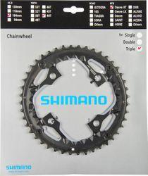 SHIMANO Kettenblätter DEORE XT Trekking FC-T780/FC-T781, 44 Zähne (AE), 104 mm, Schwarz,