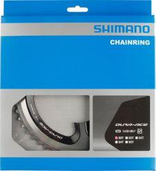 SHIMANO Kettenblätter DURA-ACE FC-9000, 50 Zähne (MA), 110 mm, Silber/Schwarz, Aluminium