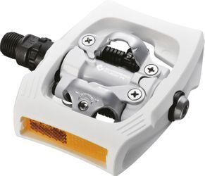 SHIMANO Click`R Pedal PD-T400, Click`R (SPD), SM-SH56, Integriert, Weiß
