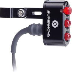 SUPERNOVA E3 Seat Post Tail Light 2 schwarz, Sattelstütze, 6V DC – Bild 1