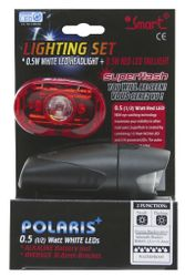 SMART LED-Lichtset weiss + rot Polaris + Superflash