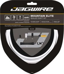 SCHALTZUGSET JAGWIRE MOUNTAIN ELITE SEALED WEIß