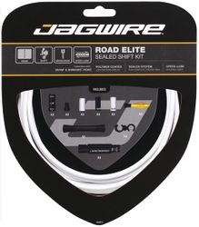 SCHALTZUGSET JAGWIRE ROAD ELITE SEALED KIT WEIß