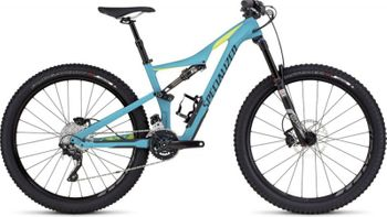 SPECIALIZED RHYME FSR COMP CARBON 650B TUR/HYP/BLK SMALL – Bild 1