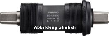 SHIMANO Innenlager BB-UN100 Vierkant BSA, Vierkant, 73 mm, BSA (BC 1.37), 122,5 mm (LL12