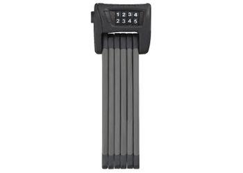 Abus Faltschloss BORDO Combo 6100 ST schwarz 90cm