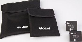 ROLLEI ROLLEI BATTERIE-KIT+12V LADEKABEL 3S/4S/5S/5S-WIFI