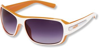 LAZER BRILLE Q1 GLOSS WHITE-ORANGE .