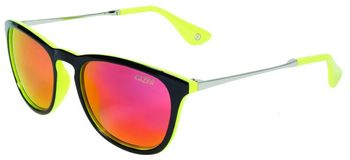 LAZER BRILLE WAY2 BLACK-FLASH YELLOW .