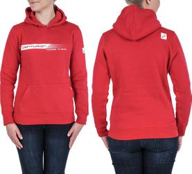 HOODY CENTURION FORGE AHEAD DAMEN O. ZIPPER ROT GR.XL