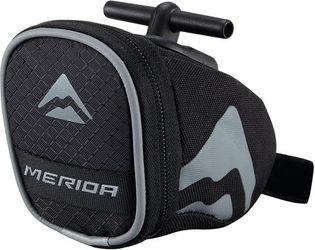 SATTELTASCHE MERIDA SADDLE BAG S T-BAR SCHWARZ GRAU