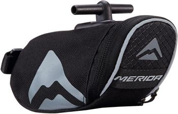 SATTELTASCHE MERIDA SADDLE BAG M T-BAR SCHWARZ GRAU