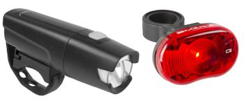 SMART LED-Lichtset weiss + rot City 25 + Stern
