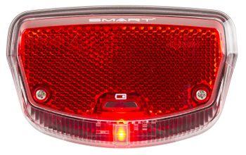 SMART LED-Licht rot TUNNEL für gepäckträger