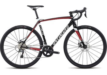 SPECIALIZED CRUX E5 TARBLK/FLORED/METWHT 2017