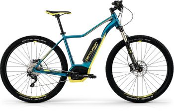 CENTURION BACKFIRE FIT E 600.29 2017 PAZIFIKBLAU/LIME