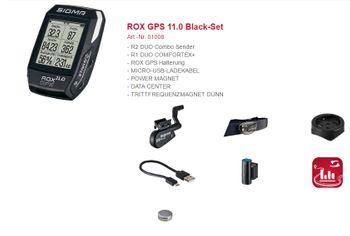 Sigma Sport Computer ROX 11.0 GPS BLACK SET