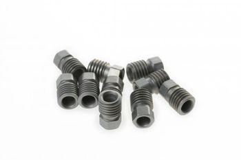 Überwurfschraube für MT-, HS22- und HS33 R-Bremsgriffe, M9, silber (VE =  10 Stück)