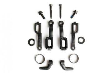 Evolution-Adapter für eine Bremse, schwarz (VE = 1 Stück)
