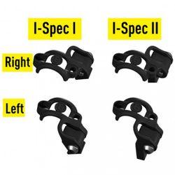 Klemmschelle Shiftmix 1+2, für Shimano I-Spec I+II Schalthebel, schwarz (VE = 1 Stück links, 1 Stück rechts)