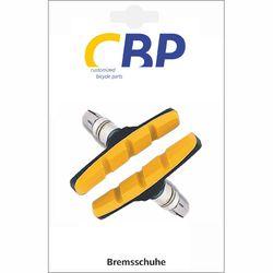 Bremsschuhe V-Brake schraub symetrisch gelb, 1Paar