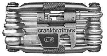 Crankbrothers Multi-19 Multitool, nickel plating