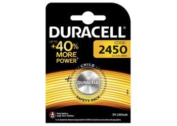 Duracell Batterien CR2450 - 1Stk.
