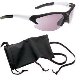"Radbrille ""Tuareg"" schwarz-matt"