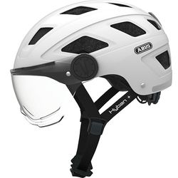 Hyban + white cream clear visor, M = 52-58cm